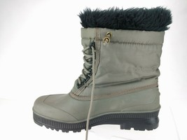 SOREL Gray Snowflake Embroider Women's Winter Snow Lined Waterproof Boot... - $46.71