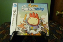 Super Scribblenauts (Nintendo DS, 2010) VG With Manual - $6.92