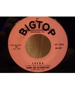 BIG TOP RECORDS ~SHEBA & DOWN YONDER~ JOHNNY AND THE HURRICANES NEAR MIN... - $3.99