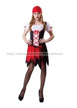TOTALLY GHOUL For Women PRETTY PIRATE One Size Fits Most HALLOWEEN COSTU... - $14.99