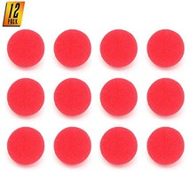 Skeleteen Red Carnival Clown Noses - Red Sponge Nose For Circus Costume ... - $8.63