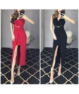 New Fashion Autumn and Winter Banquet Evening Fishtail Long Dress Formal... - $21.90