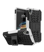 Protective Case for LG X Style / Tribute HD LS676 Volt 3 LS755 - White  - $4.99