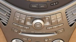 06 Subaru Tribeca B9 Heater Climate Control Dash Air Vents Info Stereo Faceplate image 4