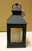 Everlasting Glow LED Hanging Lantern Battery Operated Candle Holder Rust... - $20.00