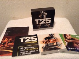 Beachbody Focus T25 Get It Done 8 DVD Set Alpha + Beta Workout Exercise - $14.95