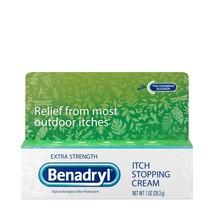 Benadryl Extra Strength Itch Relief Cream, Topical Analgesic 1Oz - Insec... - $16.82
