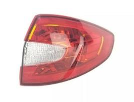 2011-13 Ford Fiesta Sedan Outer Tail Light Rear Brake Lamp Passenger Rig... - $64.25