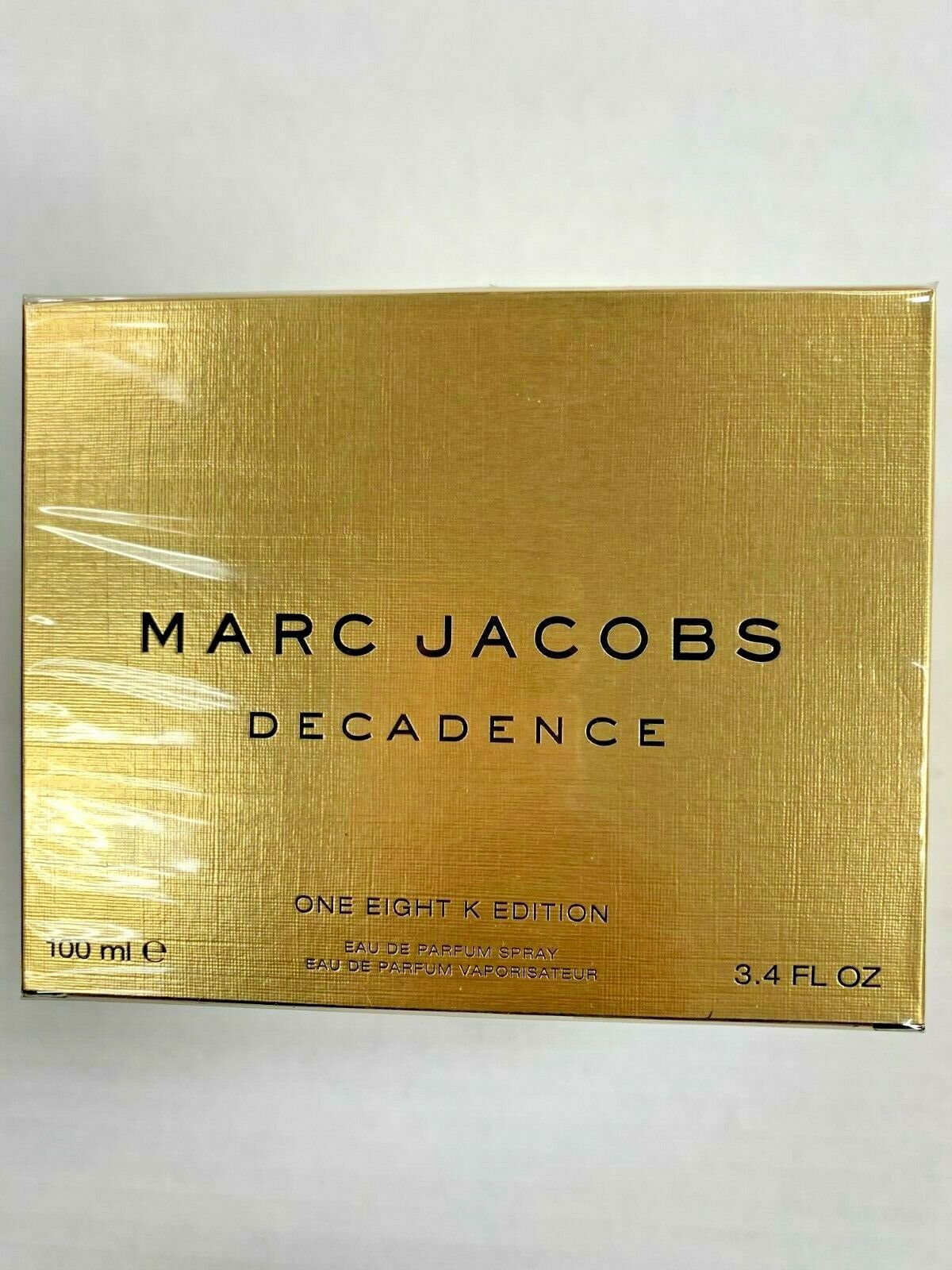 Primary image for Marc Jacobs Decadence Gold One Eight K Edition for Women, 3.4 Ounce edp spray