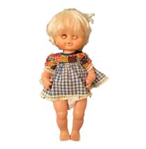 Uneeda Baby Doll Open Close Eyes Hard Plastic Body Children Girls Vintage Toy - $24.75