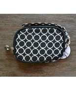 Mud Pie Black & White Circle Tech / Case / Wristlet / Phone Wallet Bag  - $9.00