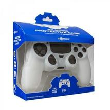 Tomee Silicone Skin Protective Case for PS4 Controller White - $6.11