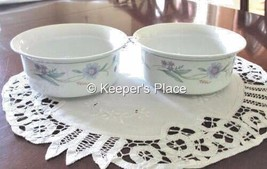 2 Oneida China Ava Fruit Dessert Sauce Bowl Ramekin Mint Condition - $19.00