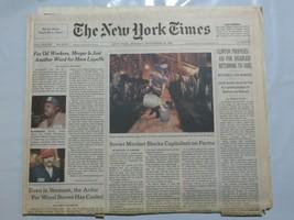 The New York Times 1998 November 30 Exxon Merger Hand Milking Russia Cli... - $39.99
