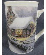 Thomas Kinkade Olde Porterfield Gift Shoppe Coffee Mug 14oz Ceramic Cup - $17.95