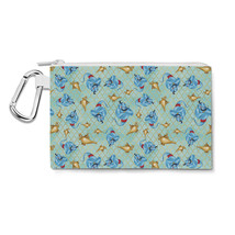 Genie And His Lamp Aladdin Disney Inspired Canvas Zip Pouch - $14.99+