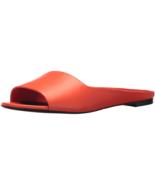 Via Spiga Women's HANA Slide Sandal,Hot Orange, Size 4.5 M - $118.79