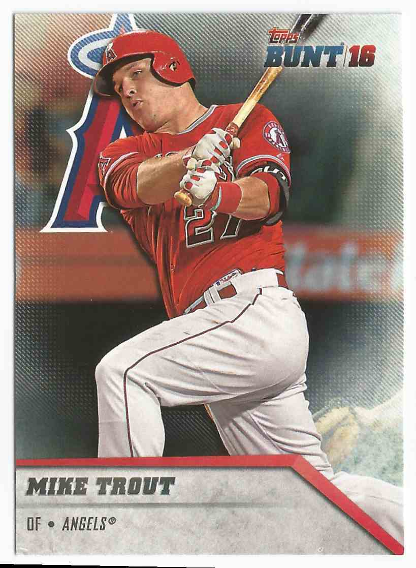 2016 topps  1 mike trout