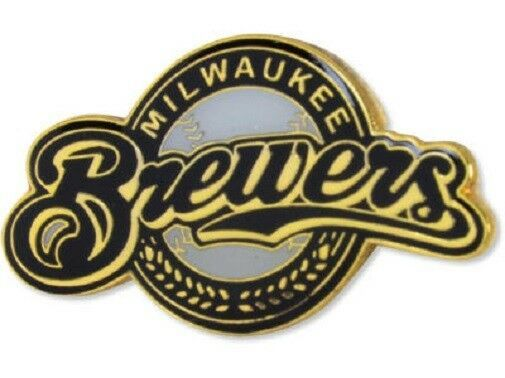 Milwaukee Brewers MLB Logo Pin