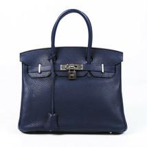Hermes Birkin 30 Clemence Handbag - $13,510.00