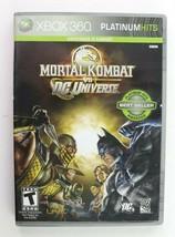 Mortal Kombat vs. DC Universe (Microsoft Xbox 360, 2008) Complete Tested - $11.95