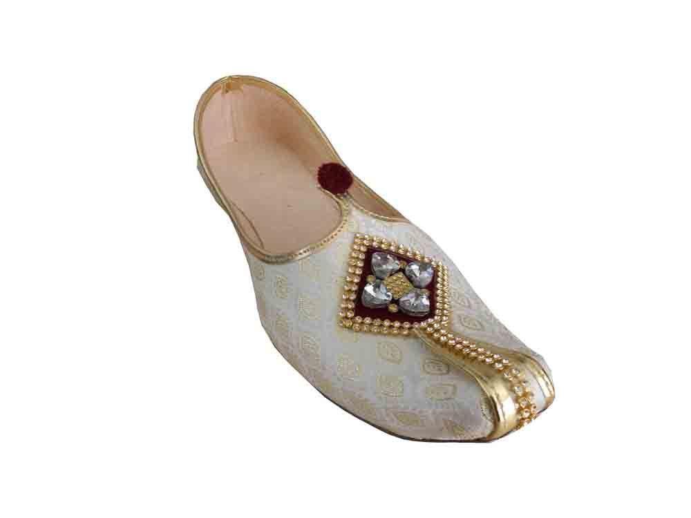 503063425e31f 111. 111. Previous. Mojari Handmade Flip-flops Men Shoes Sherwani Jooti  Indian Khussa Flat US 6-12