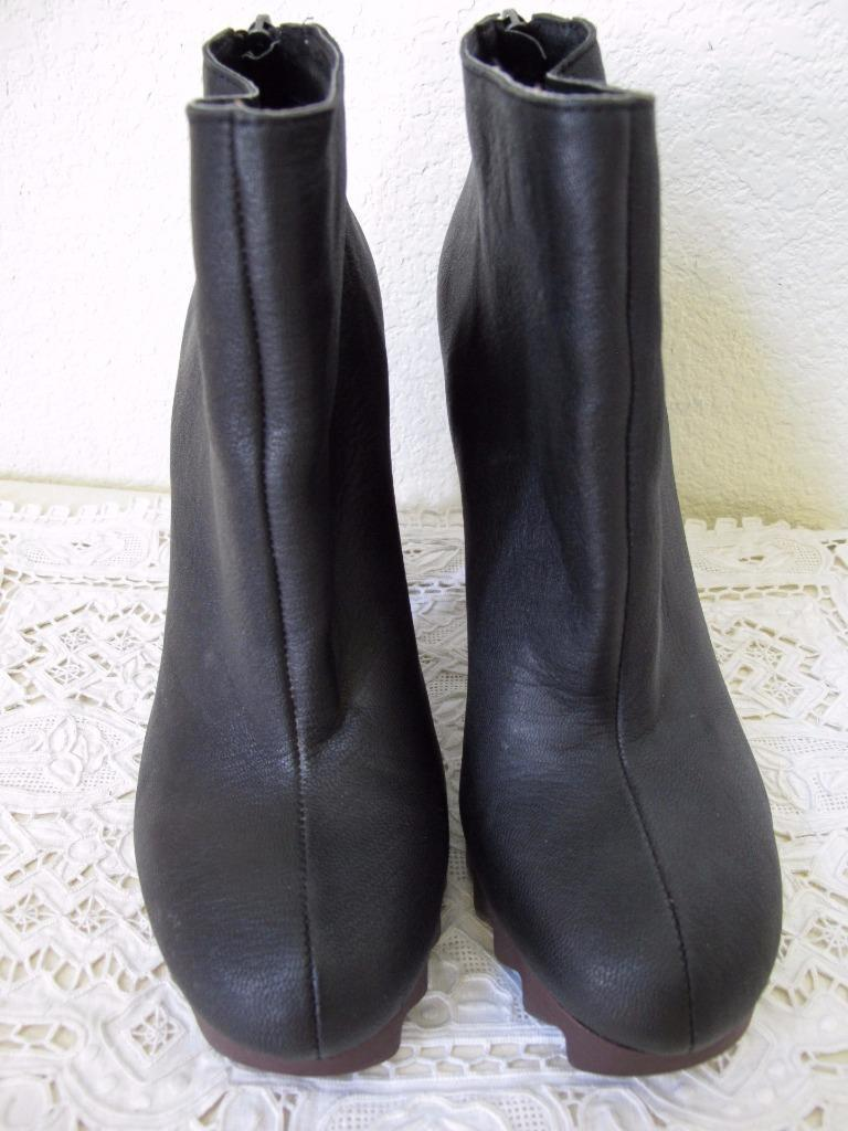 a7757c65806a ... Sam Edelman Circus Extreme Tread Kensley Bootie Ankle Boot 8.5M US  Black Leather ...