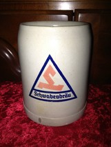 Vintage Schwabenbrau Beer Mug Stein 0,5 Liter - Made in Germany, Hand-pa... - $18.99