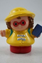 Fisher Price Little People Maggie With Backpack & Book - $2.47