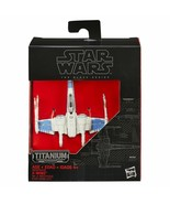 Star Wars The Force Awakens Black Series Titanium Resistance X-Wing - $19.99