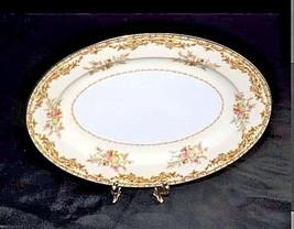 Noritake China Nana Rosa Pattern # 682 Serving Platter Tray AB 336-EVintage