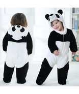 Kids Baby Toddler Unisex Warm Romper Jumpsuit Bodysuit Hooded One Piece ... - $25.00