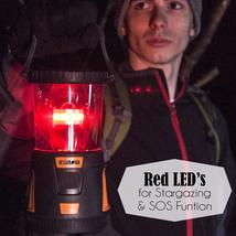 Internova 1000 LED Camping Lantern Fully Adjustable 360 Arc Lighting Valentines image 5