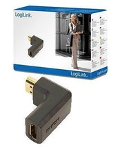 LogiLink HDMI Adapter/ Angled/ Full HD/1080p - Socket to Plug ah0005 - $4.74