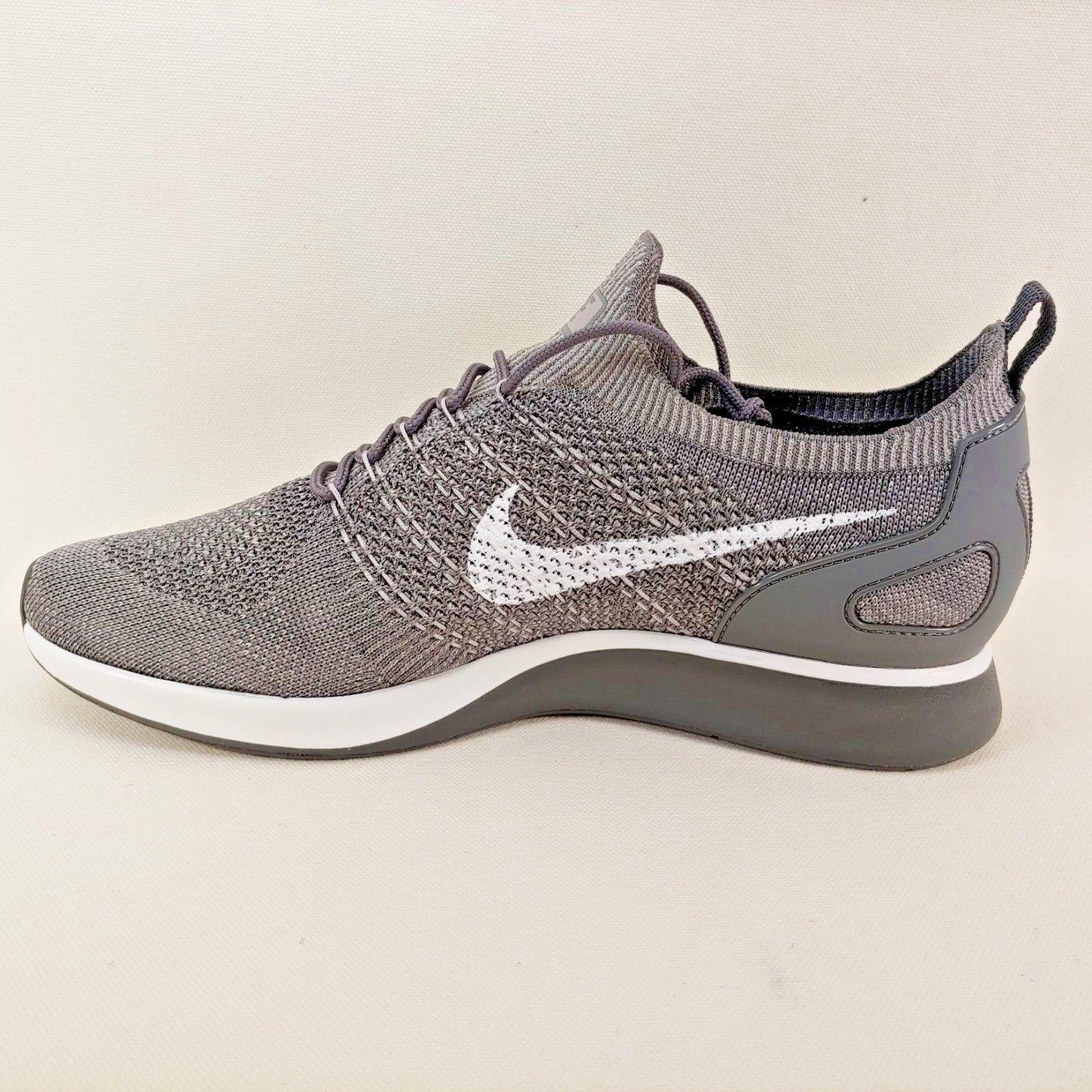 5e2ab30452bb1 ... Nike Air Zoom Mariah Flyknit Racer Gunsmoke Grey Running Shoe Size 11  ...