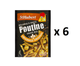 St Hubert Poutine Gravy Mix (52 g) - Pack of 6 - FROM CANADA - $27.97