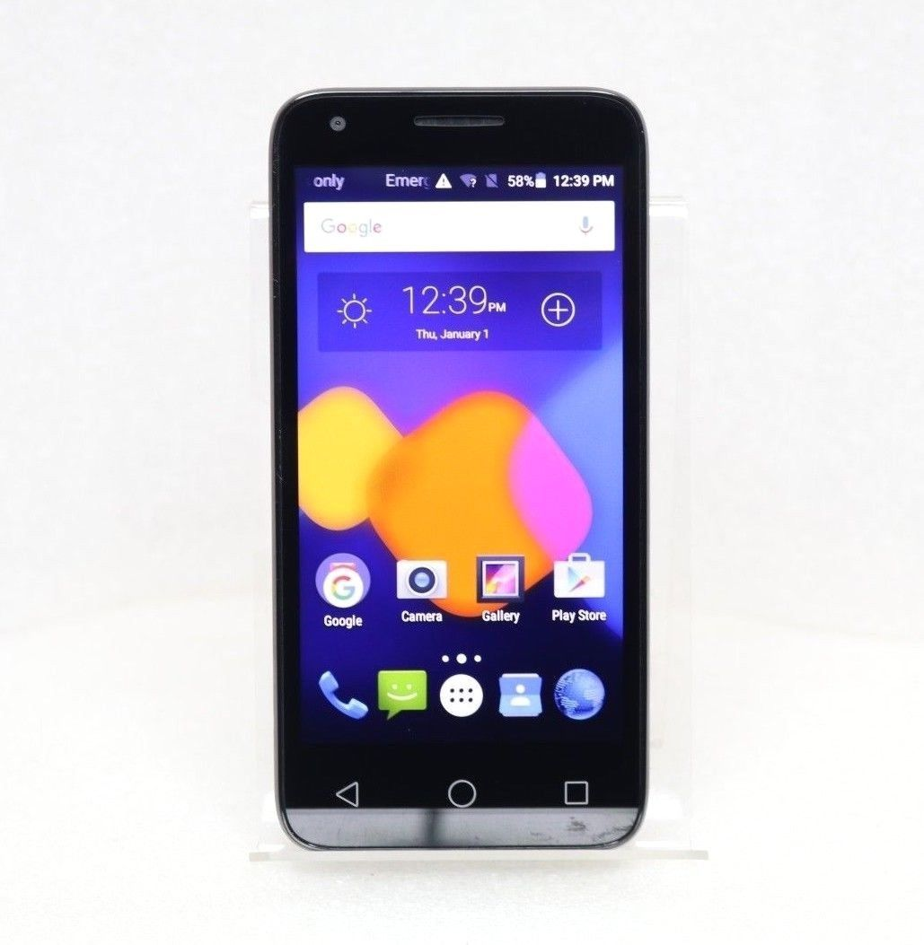 "Alcatel Pixi 3 | 4.5"" 4G LTE (GSM UNLOCKED) Smartphone 