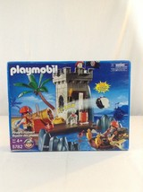 New Playmobil 5782 Pirates Hideout With Working Cannon 112 Piece Toy Pla... - $39.26