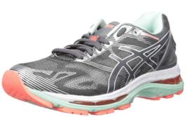 Asics Gel Nimbus 19 Size 5 D WIDE EU 35.5 Women's Running Shoes Gray T75... - $87.21