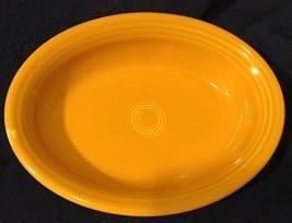 Fiesta Gold Oval Bowl/Platter - $14.01