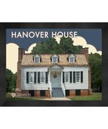"""Clemson University """"Hanover House"""" 13x16 Art Deco Framed Print  - $39.95"""