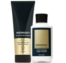 Bath & Body Works Midnight For Men Body Lotion+ Moisturizing Body Wash Duo Set - $32.95