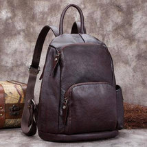 Sale, Fashion Full Grain Leather Messenger Bag, Shoulder Bag, Satchel Bag, Leath image 5