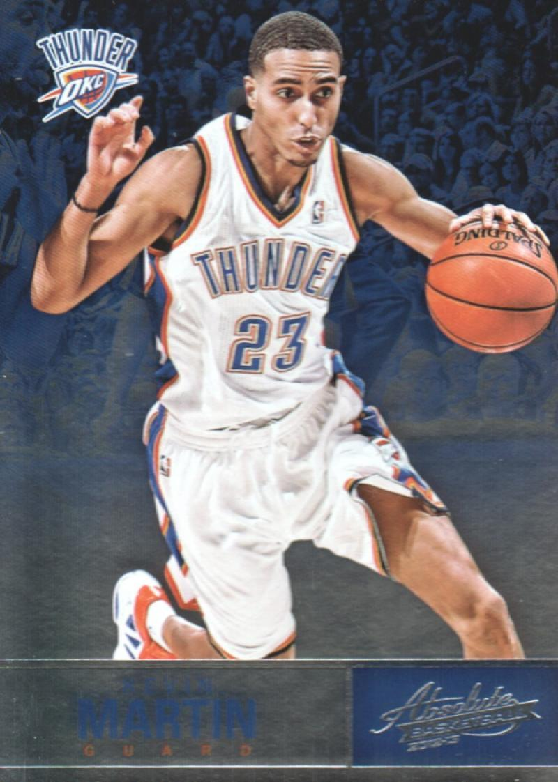 Primary image for 2012-13 Panini Absolute #41 Kevin Martin NM-MT Thunder