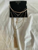 """Guess Necklace Bundle Gold Color 16""""+ 2"""" 412408-43 - $8.90"""