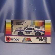 Lancia Beta Martini 1:43 Scale Car by Bburago. - $23.00