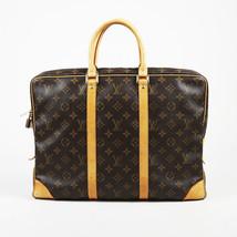 """Louis Vuitton Monogram Canvas & Leather """"Porte Documents Voyage"""" Briefcase - $1,505.00"""
