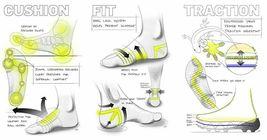 New NIKE Grip STRIKE LightWeight Football Crew Socks  USsz:12-13.5  SX5089-010 image 3