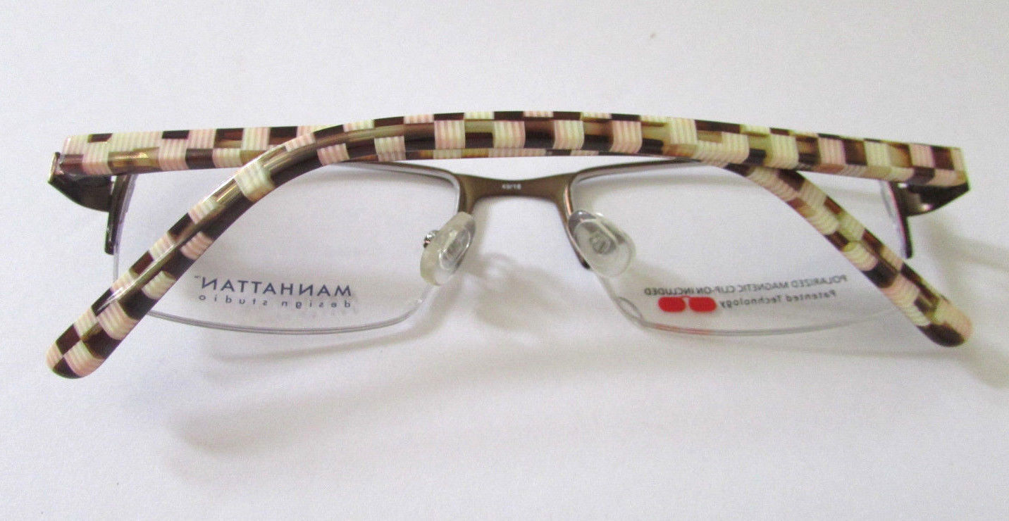 Primary image for WOMEN'S MANHATTAN DESIGN STUDIO EYEGLASSES FRAMES  RX GLASSES 49-18-135 MM