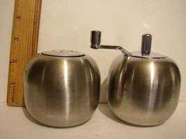 Stainless Steel Salt Shaker and Pepper Mill by Brilliant - $14.84